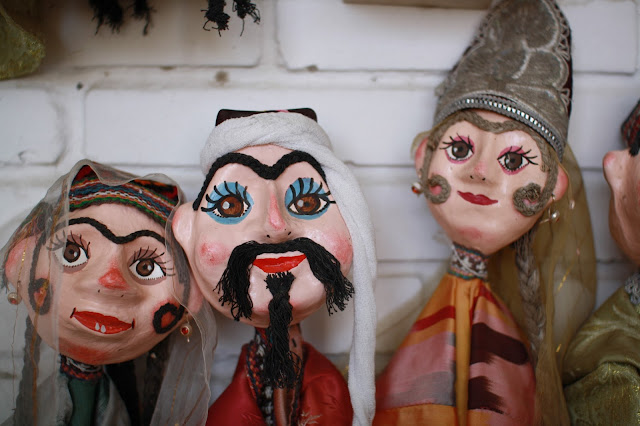 Ouzbékistan, Boukhara, marionettes, Iskander Khakimov, © L. Gigout, 2010