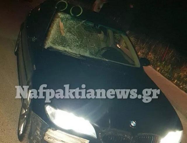 Ναυπακτία: Σκληρές εικόνες μετά από τροχαίο με άλογο – Έτσι έγινε το αυτοκίνητο που το σκότωσε
