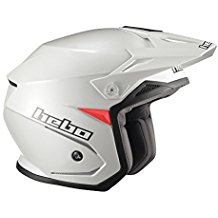 Hebo Trial Zone 5 Casco, Blanco, Talla M