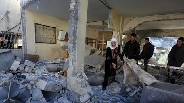 """ONG israelí ve """"inusual"""" la demolición de casas palestinas en Cisjordania en 2016"""