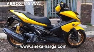 Pasaran harga motor Yamaha Aerox 155 VVA bekas