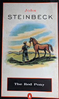 Book cover - The Red Pony by John Steinbeck