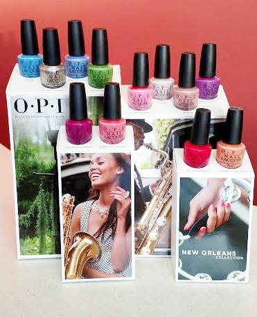 OPI New Orleans Collection spring/summer display