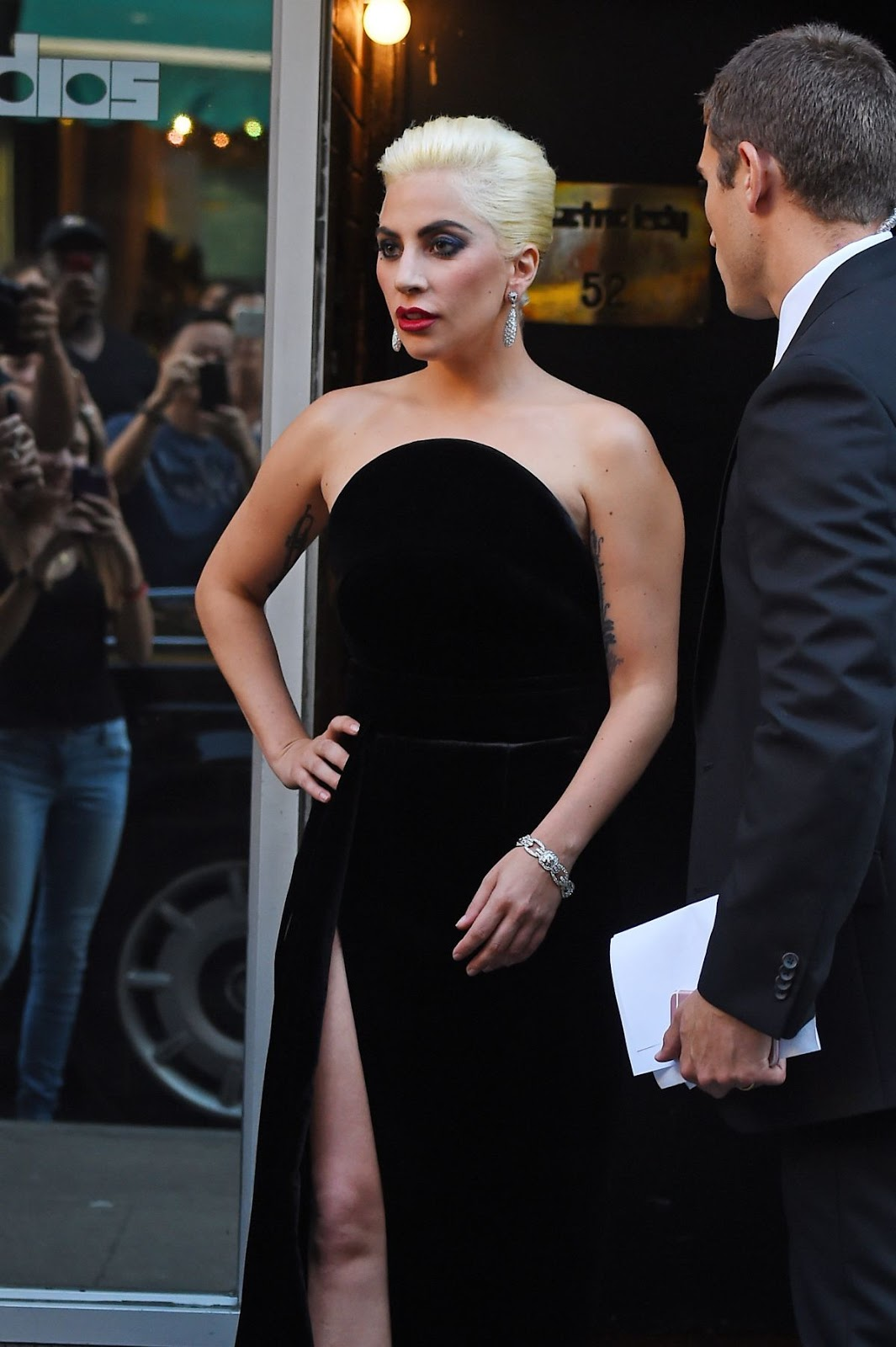 Lady Gaga Leaves A Studio In New York HQ Photos