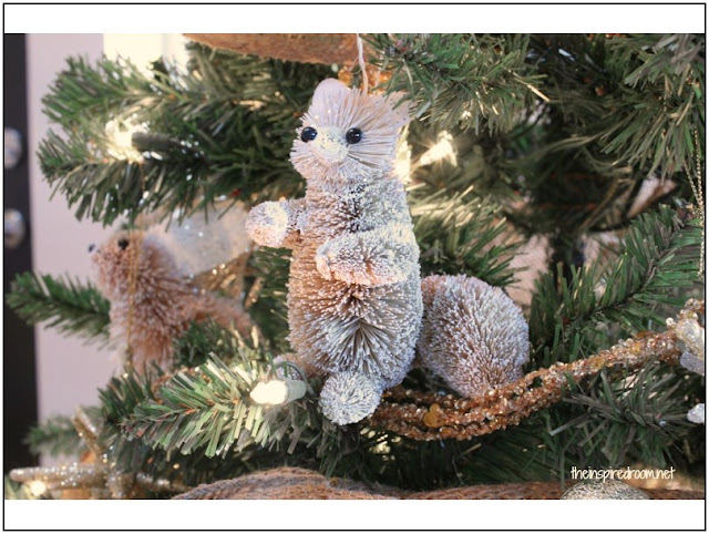 Woodland Animals Christmas Ornaments