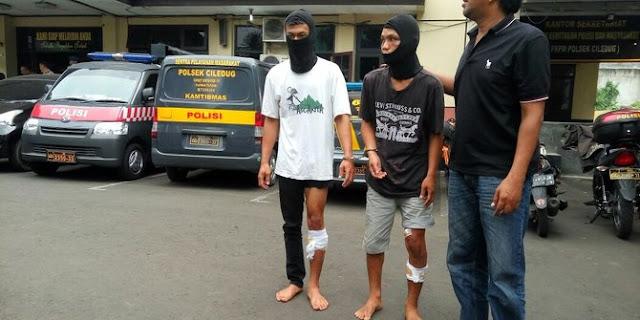 2 pencuri motor jaringan Pandeglang ditembak polisi
