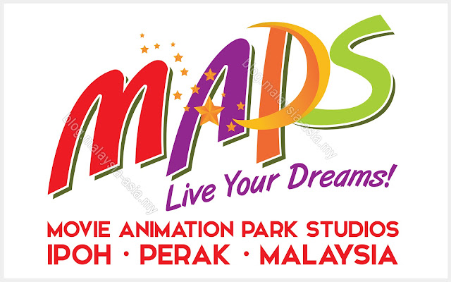 MAPS or Movie Animation Park Studios in Perak, Malaysia