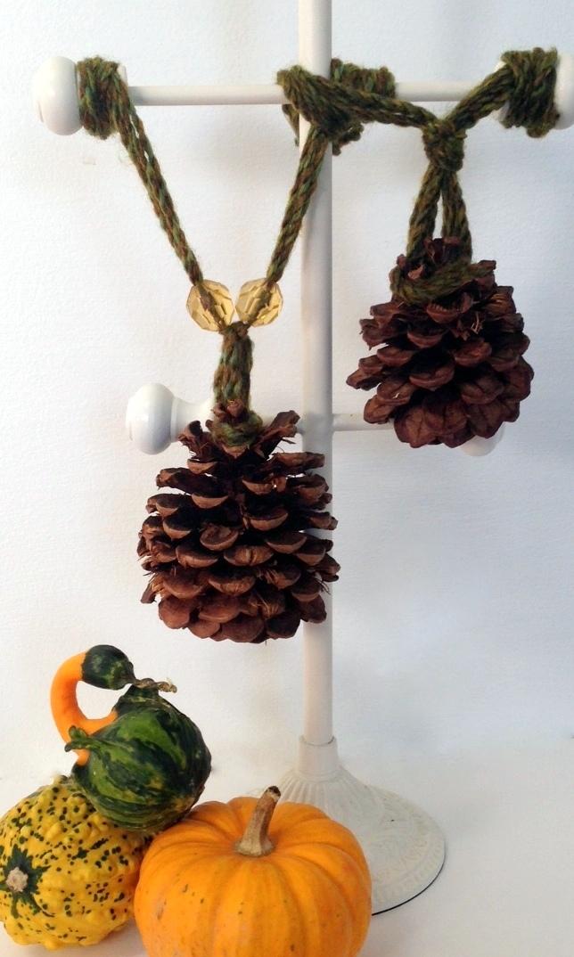 Loveyourroom Diy Pine Cone Tassels