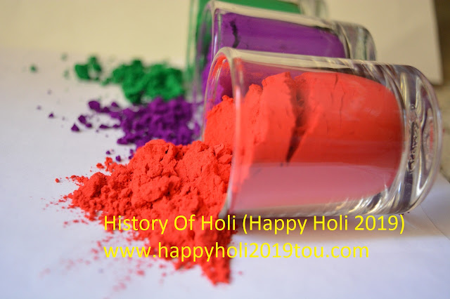 history of holi and Story Behind The Holi