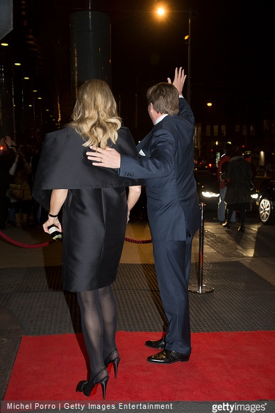 Queen Maxima of The Netherlands and King Willem-Alexander of The Netherlands arrive to attend the final concert by conductor Mariss Jansons with the Royal Concertgebouw Orchestra on March 20, 2015 in Amsterdam, The Netherlands.