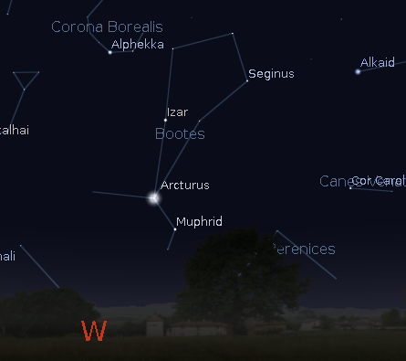 Staring Into Space: Arcturus, Boötes Constellation Photo