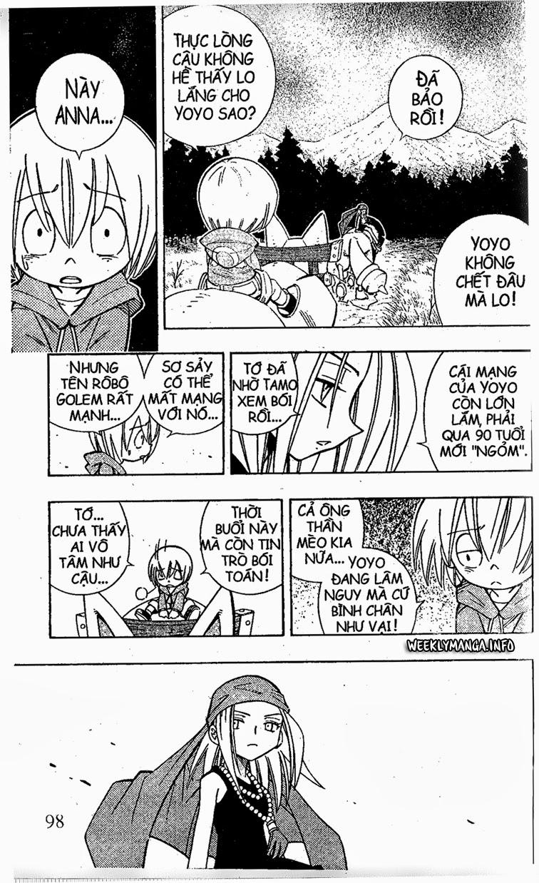 Shaman King [Vua pháp thuật] chap 202 trang 9