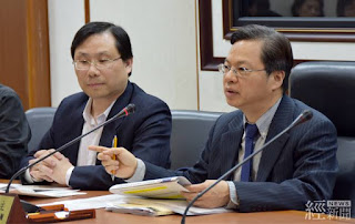 經濟部次長龔明鑫說明此次電價調整情形