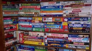 Shelves  of Board Games