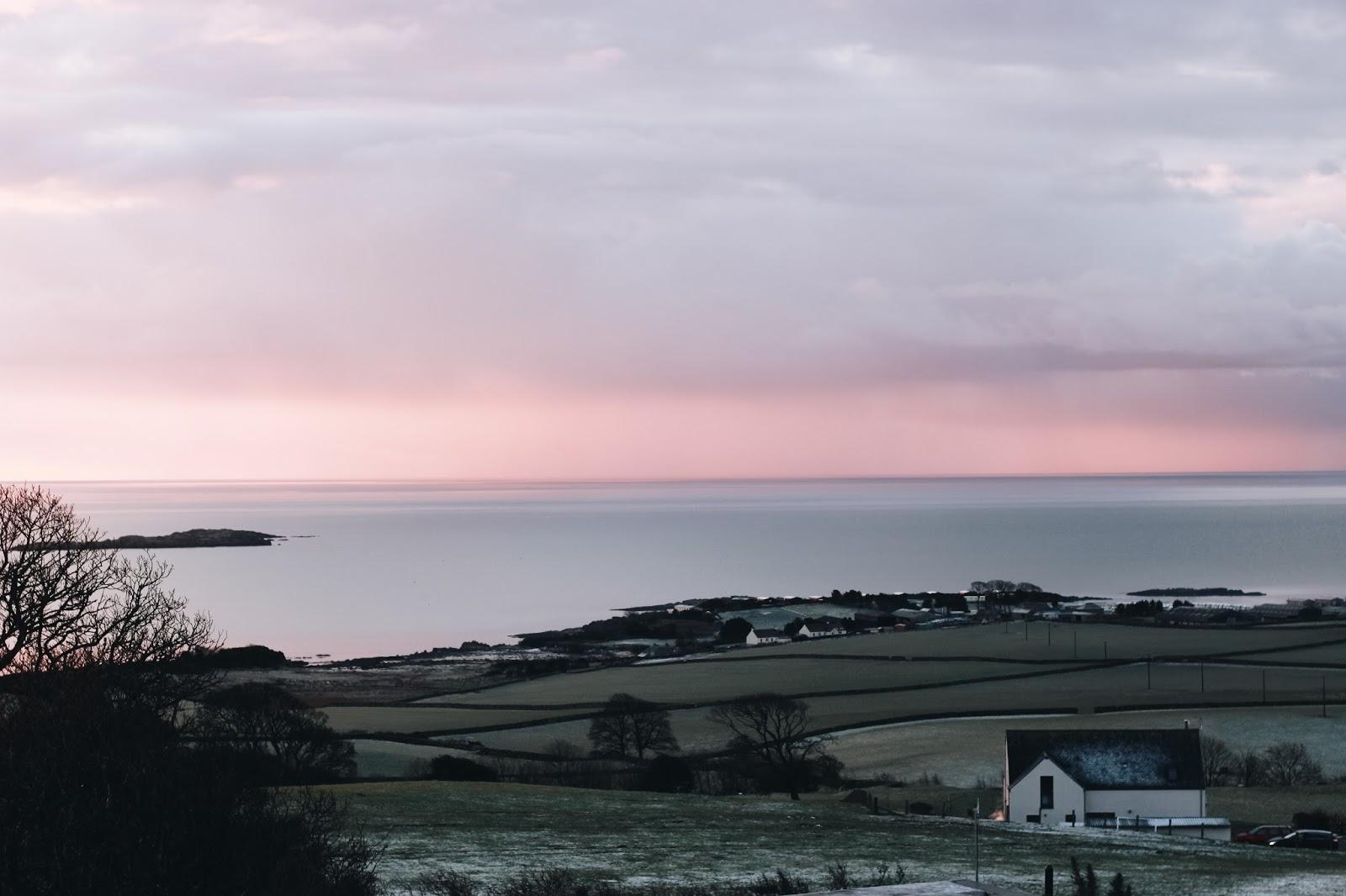 Zimowy wypad nad morze w Szkocji - 20 zdjęć.