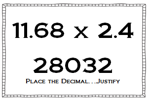 Classroom Freebies Too: Estimating to Build Decimal Number