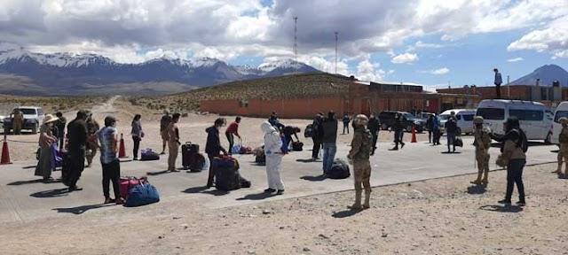 Gobierno prevé instalar campamentos en 4 puntos fronterizos entre ellos Villazón
