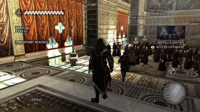 Assassin's Creed: Brotherhood - Xbox 360 - Captura 3