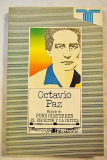Octavio Paz / edic. de Pere Gimferrer