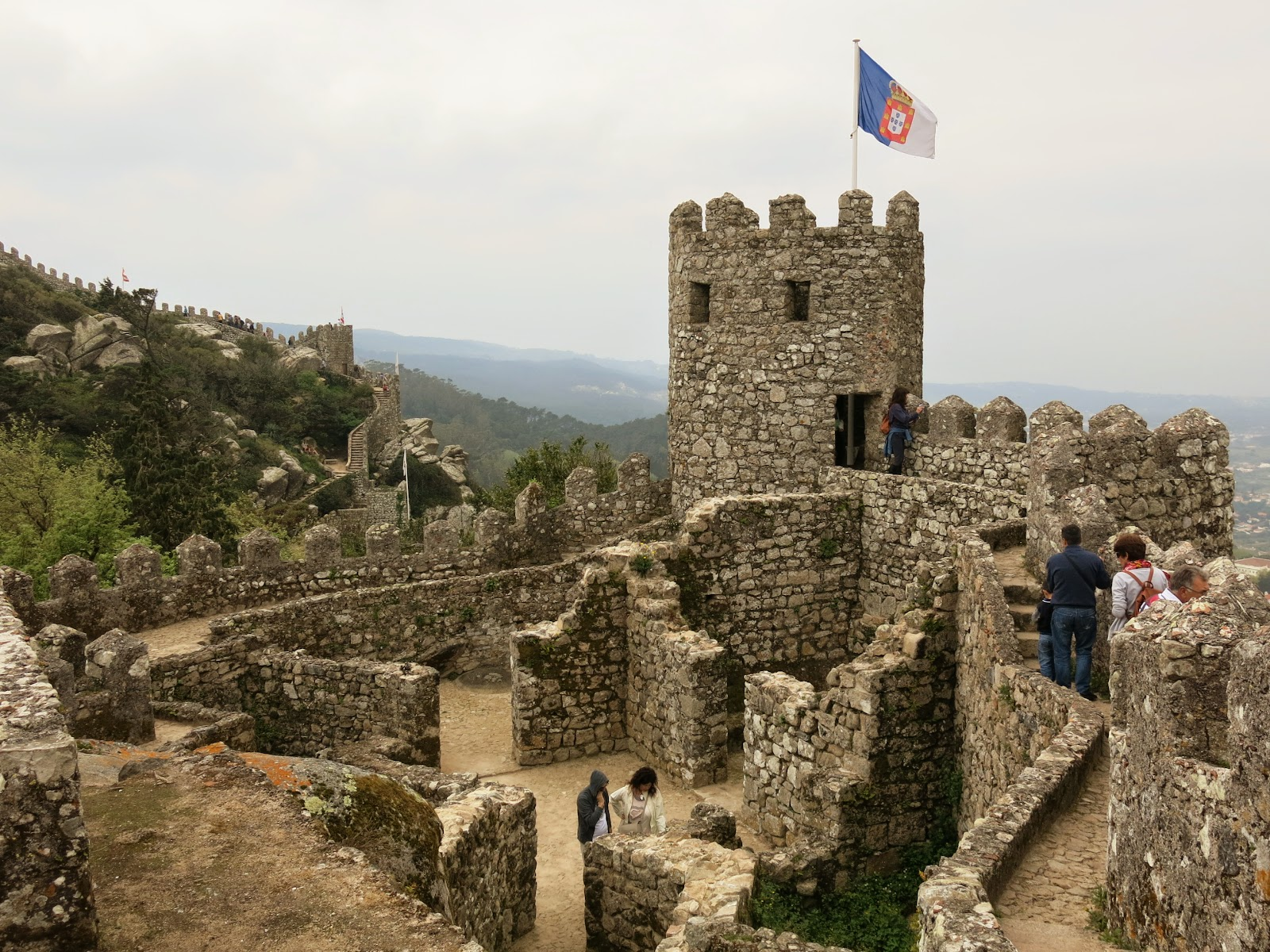 Moorish Castle i Sintra