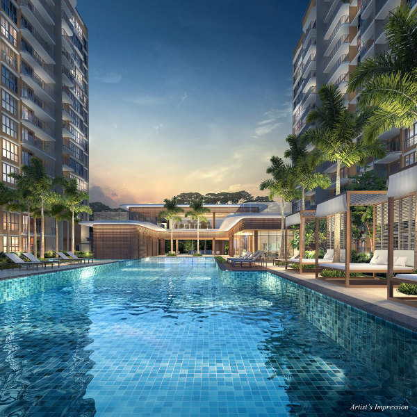 Hundred Palms Residences Pool