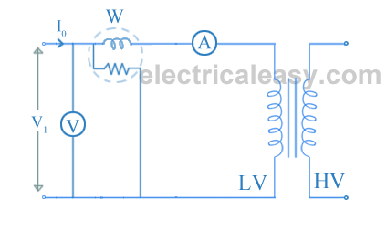 open circuit and short circuit test on transformer electricaleasy com