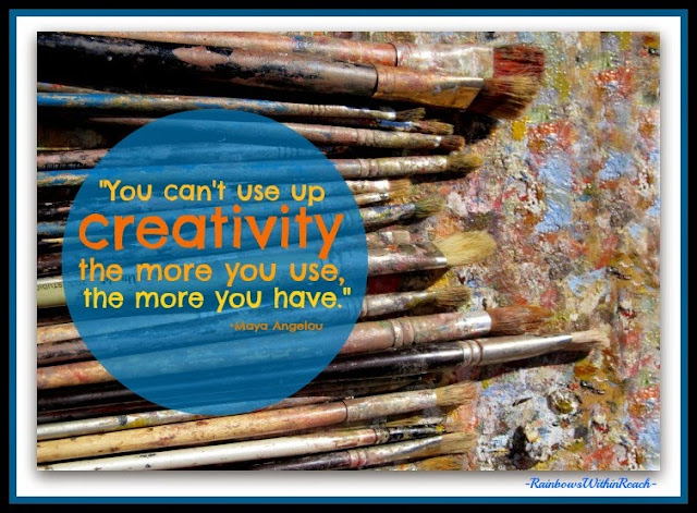 Creativity Quote from Debbie Clement Collection
