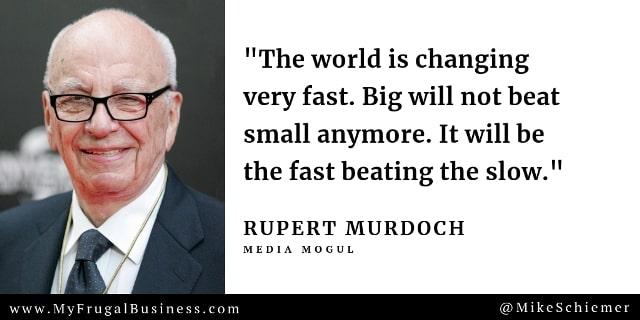 Rupert Murdoch Quotes