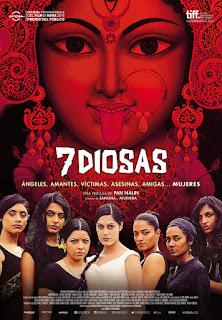 Cartel: 7 diosas