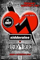 Concierto de Los Manlys, Romeo y Sidderales en Rockpalace