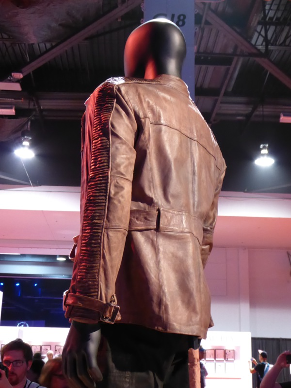 Star Wars Force Awakens Finn jacket detail