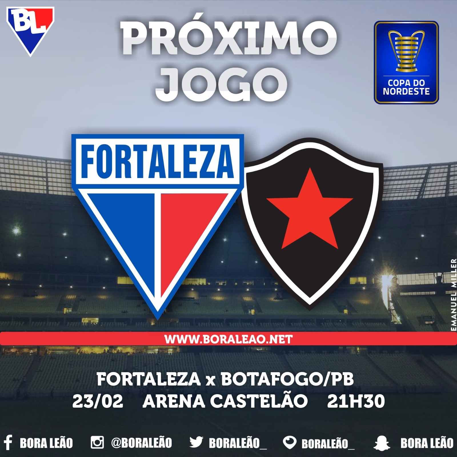 Pre Jogo Fortaleza X Botafogo Pb Bora Leao