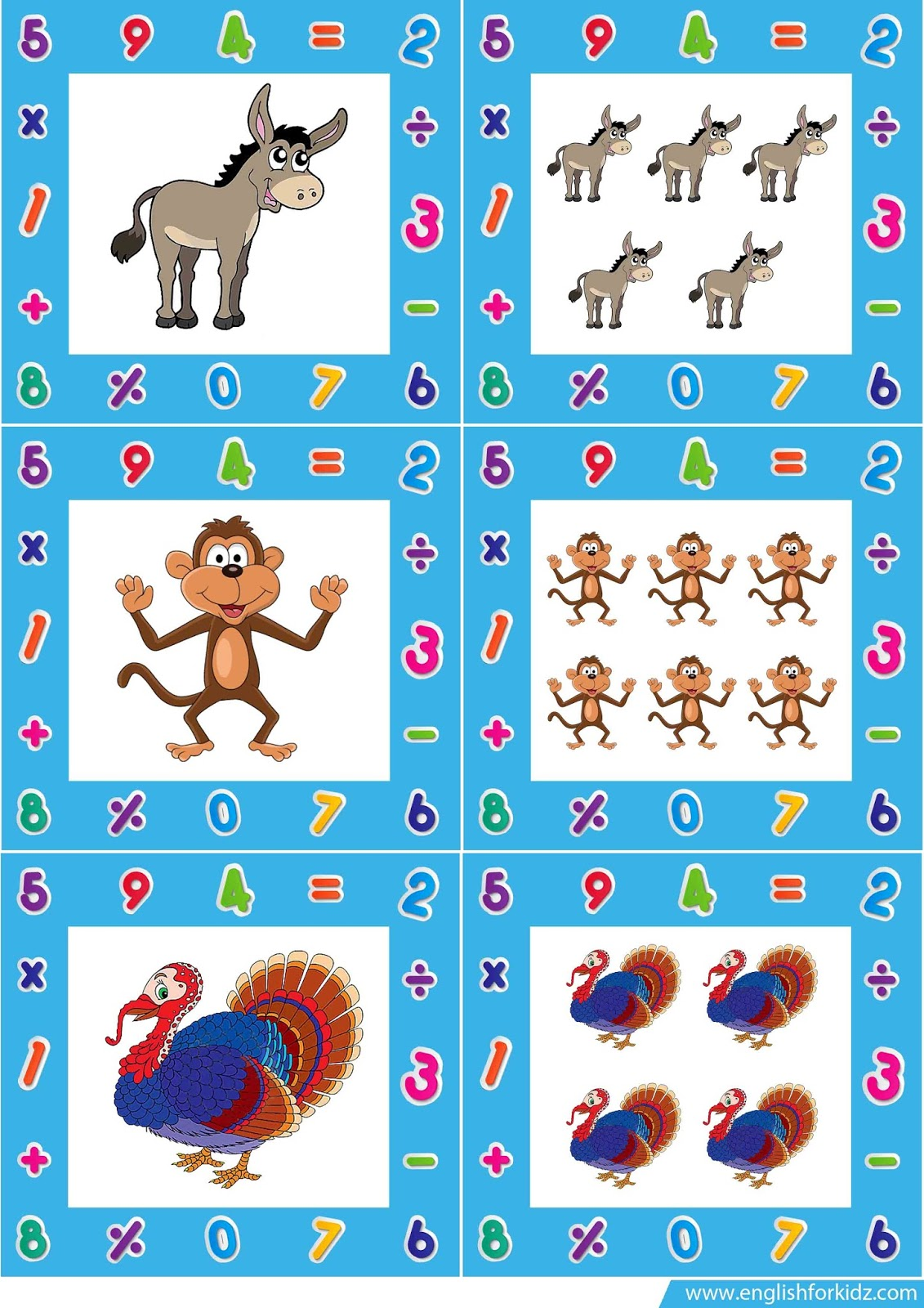 Singular And Plural Nouns Flashcards