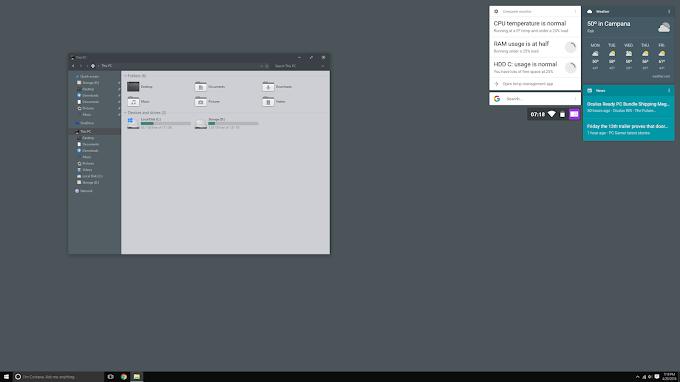 Install Themes on Windows 10 TH2