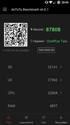 one plus 2 benchmark update