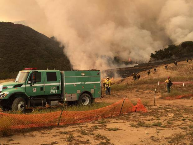 Sherpa, Vegetation fire, Santa Barbara County