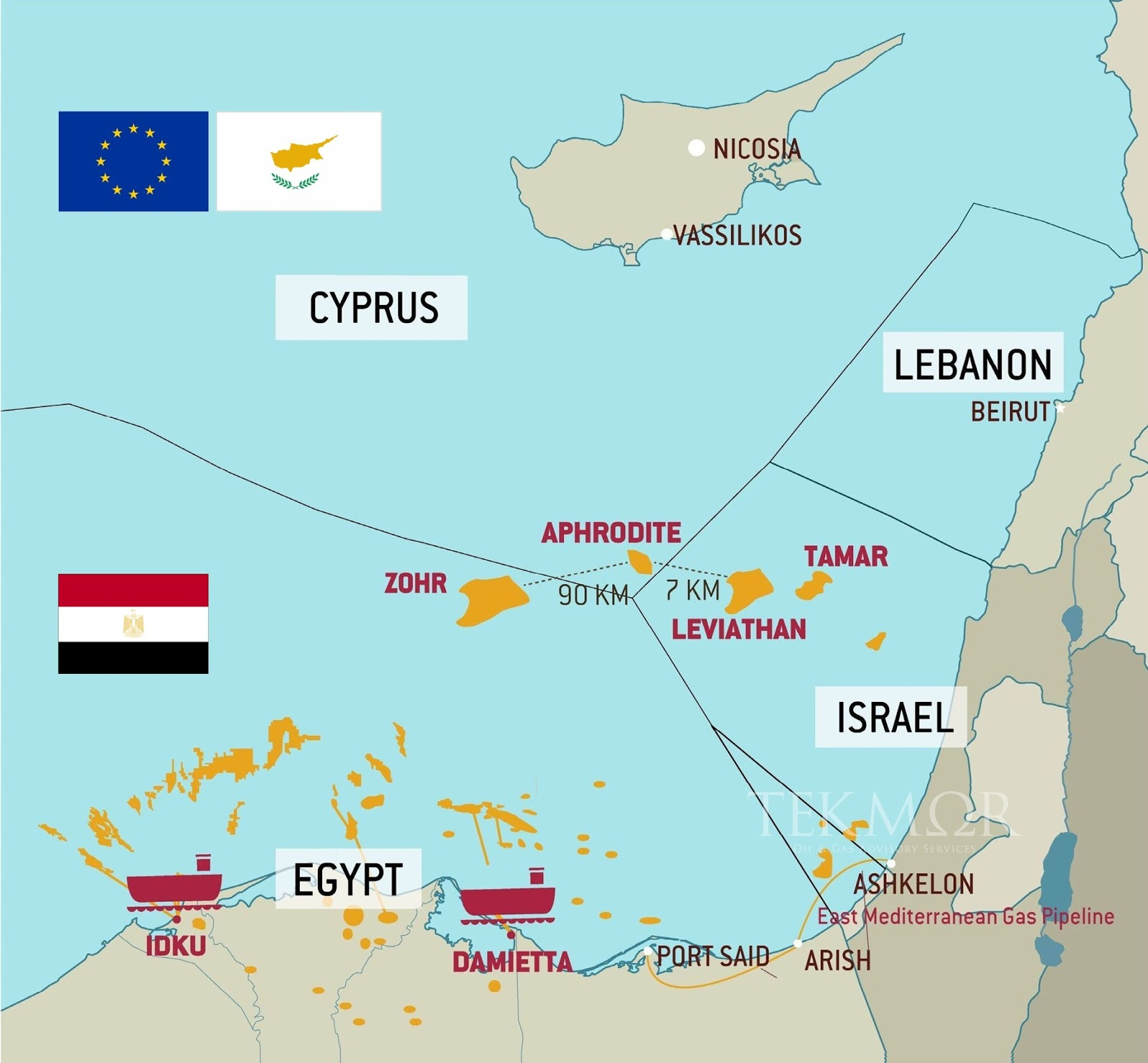TEKMOR Monitor: Egypt, Cyprus reach preliminary agreement to