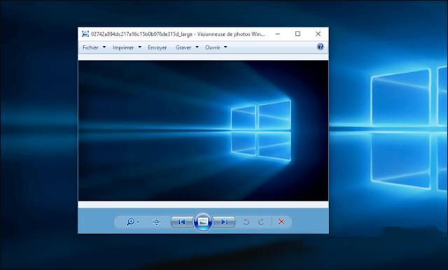 إستعادة عارض الصور Windows Photo Viewer في ويندوز 10