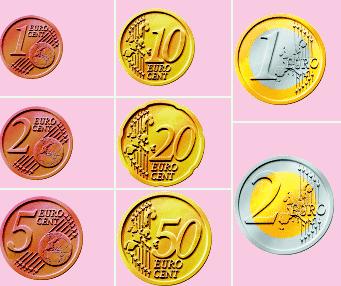 Euros (Monedas y billetes).- Compras | PTYAL~Gema Noreña
