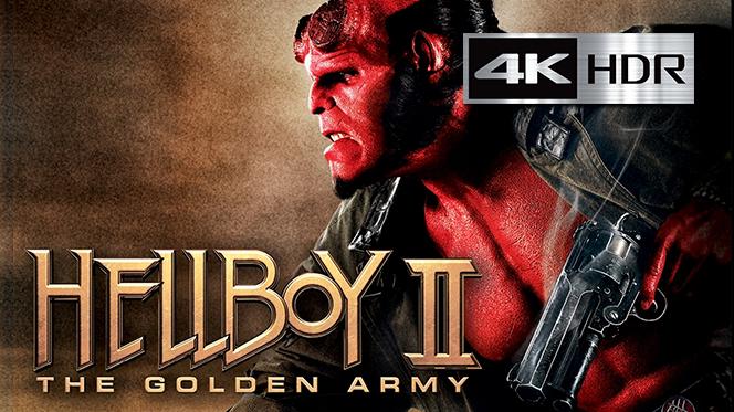 Hellboy II: El Ejército Dorado (2008) 4K UHD [HDR] Latino-Castellano-Ingles