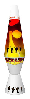 Lava Lamp The Beatles Collection 14.5 inch Lamp - Help