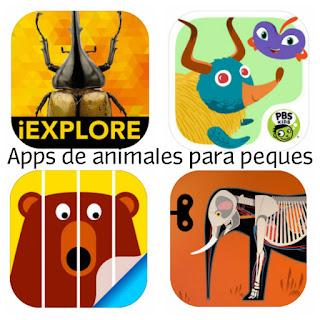 4 aplicaciones de animales para niños y niñas