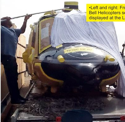 helicopter seized by nis