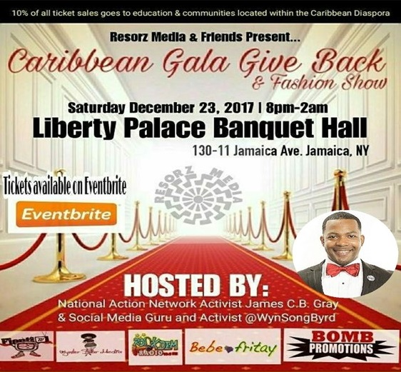 Party Hall On Jamaica Ave: Carib Gallery Journal: Event: €�Caribbean Gala Give Back