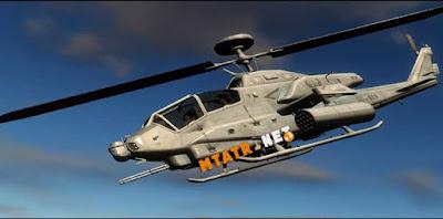AH-1W Super Cobra Gunship