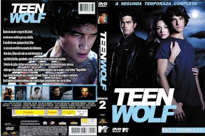 Série Teen Wolf 2º Temporada DVD Capa