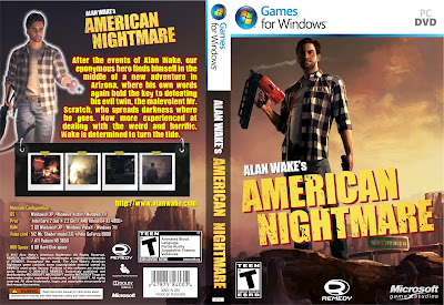 Alan Wake's American Nightmare PC DVD Capa