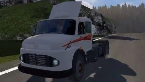Mercedes-Benz 1519 truck mod reworked