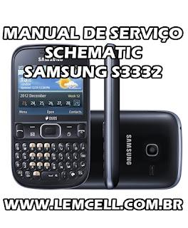 Esquema Elétrico Smartphone Celular Samsung S3332 Duos Manual de Serviço Service Manual schematic Diagram Cell Phone Smartphone Samsung S3332 Duos Esquema Eléctrico Smartphone Celular Samsung S3332 Duos Manual de servicio