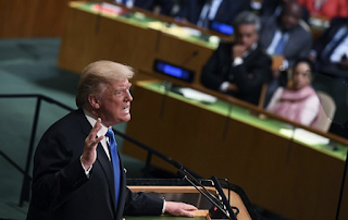 Trump draws APPLAUSE at the UN for blasting Iran's 'murderous regime' and warning that Tehran's mullahs are still working on nuclear missiles